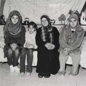 Rosalind Fox Solomon - A Mother and Her Daughters, West Bank Palestine