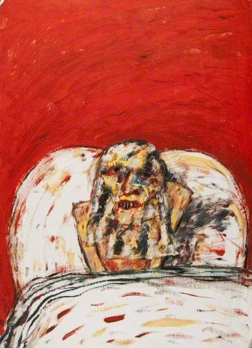 Old Woman, 1991 by John Bellany (1942-2013) | Art Reproduction | WahooArt.com