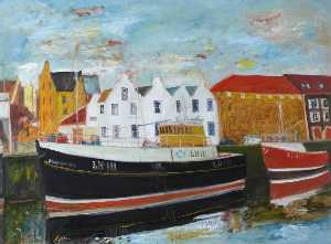 John Bellany - Anchored