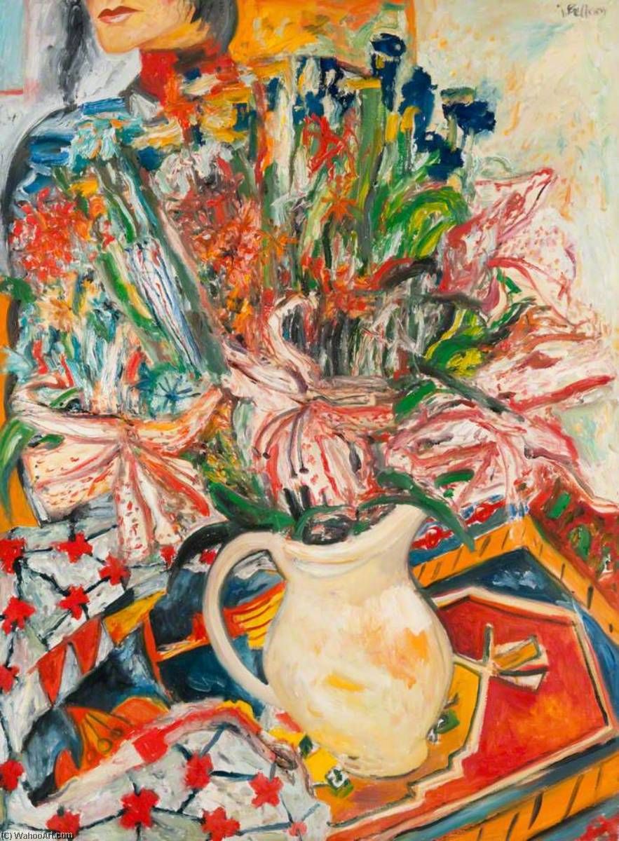 Living Flowers by John Bellany (1942-2013) | Museum Quality Reproductions | WahooArt.com
