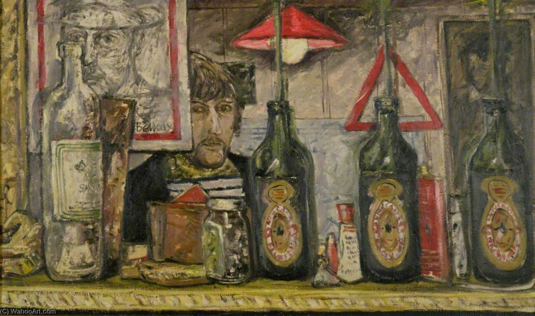 Self Portrait by John Bellany (1942-2013) | Famous Paintings Reproductions | WahooArt.com