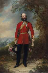 John Lindsay Lucas - Field Marshal HRH George William Frederick Charles (1819–1904), 2nd Duke of Cambridge, Commander in Chief of the Army