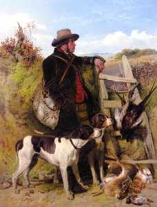 Richard Ansdell - The English Gamekeeper
