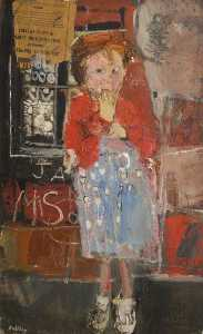 Joan Kathleen Harding Eardley - Little Girl with a Squint