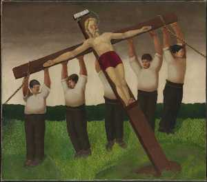 Gilbert Spencer - The Crucifixion
