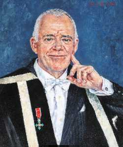 David Griffiths - Alfred Cosier Morris (b.1941), Vice Chancellor of the University of Wales Lampeter (2003–2008)