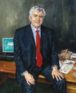 David Griffiths - Rhodri Morgan (b.1939)