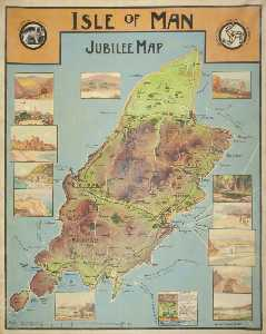 William Hoggatt - Jubilee Map of the Isle of Man