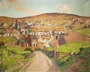 William Hoggatt - The Ancient Village of Cregneash