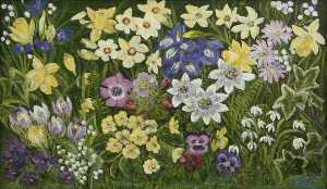 Margaret Thomas - Spring Flowers