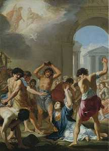 Jacques De Stella - The Martyrdom of St Stephen