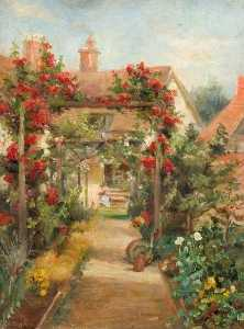 Margaret Thomas - Cottage Garden