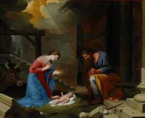 Jacques De Stella - The Nativity