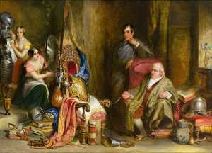 Robert Scott Lauder - The Meeting of Burns and Captain Francis Grose