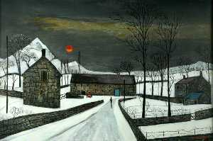 Fred Uhlman - Welsh Farm