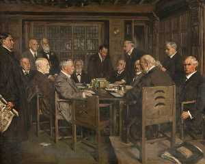 Francis Henry Newbery - The Building Committee, Glasgow School of Art