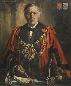 Francis Henry Newbery - Edward Reynolds (b.c.1871), Mayor of Bridport (1919 1945)