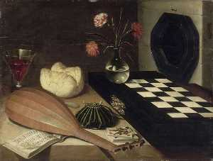 Lubin Baugin - NATURE MORTE A L-ECHIQUIER