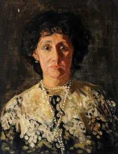 James Bolivar Manson - Portrait of the Artist's Mother