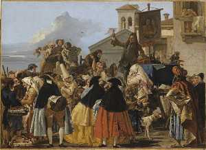Giandomenico Tiepolo - L'ARRACHEUR DE DENTS
