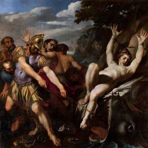 Lodovico Carracci - Orlando Delivering Olympia from the Sea Monster