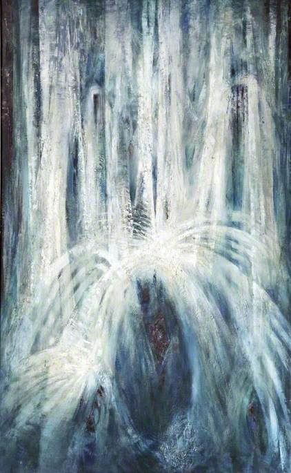 Waterfall by Georg Mayer Marton | Museum Quality Reproductions | WahooArt.com