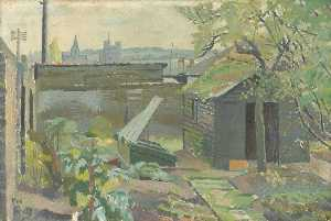 Evelyn Mary Dunbar - Rochester from Strood
