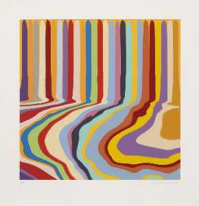 Ian Davenport - Colorplan Series Citric Etching