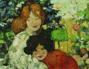 Bessie Macnicol - Two Sisters (Mother and Daughter)