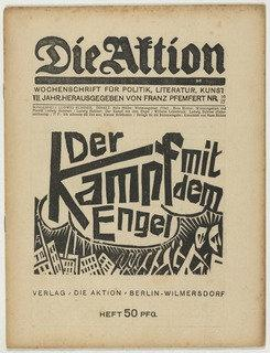 Die Aktion, vol. 7, no. 16 17, 1917 by Conrad Felixmüller (1897-1977) | Art Reproduction | WahooArt.com