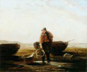 Henry Perlee Parker - The Fisherman