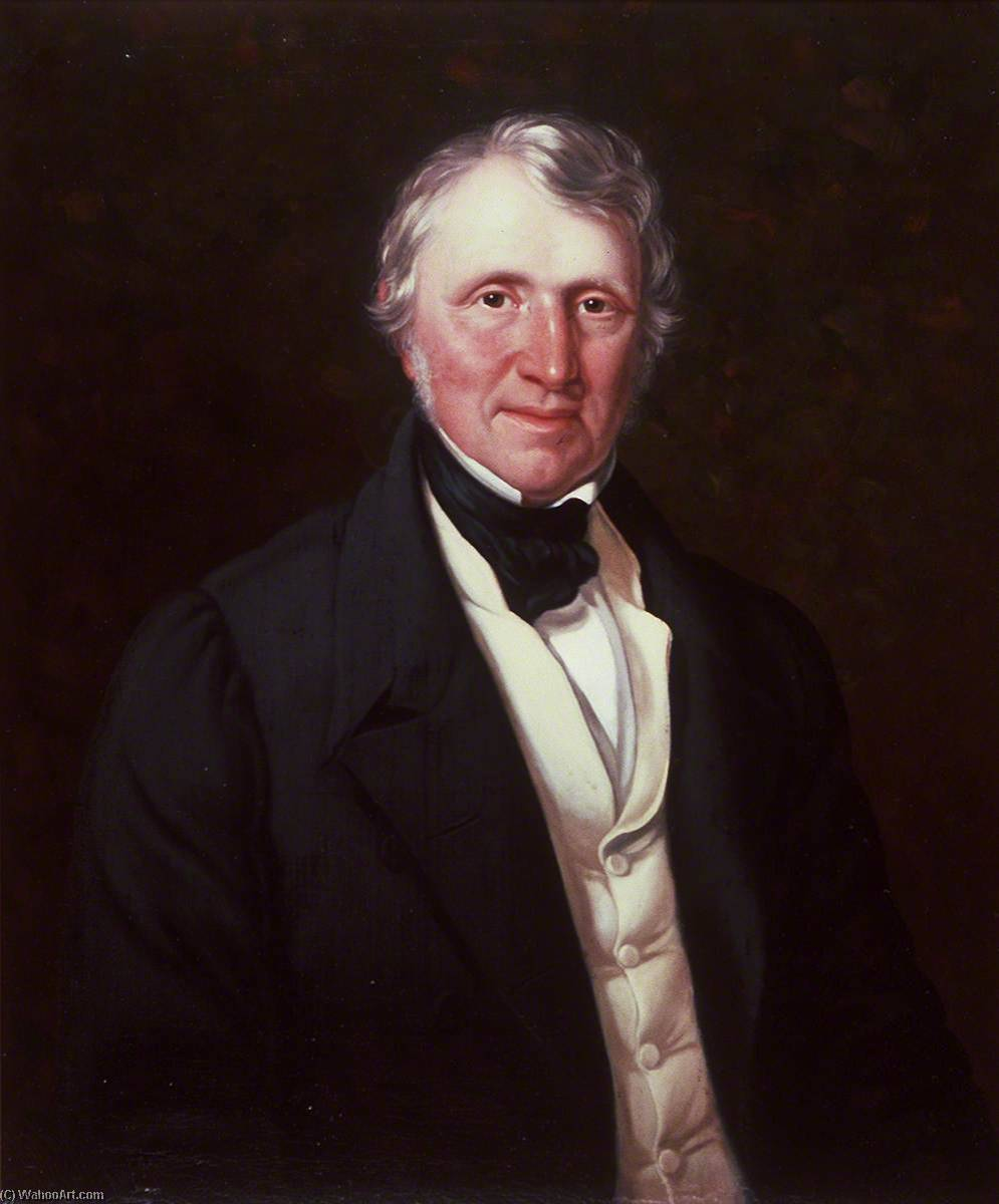 Hugh Thomas (1783–1848), 1847 by William Roos | Art Reproduction | WahooArt.com