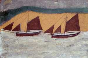 Alfred Wallis - Two Boats