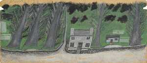 Alfred Wallis - House with Trees