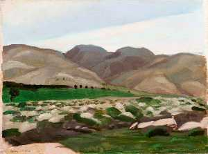 Sydney William Carline - The Hills of Judea
