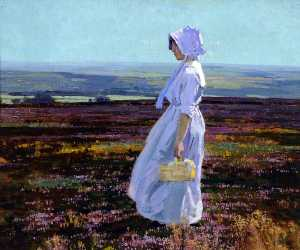 Stanley Royle - Morning on the Derbyshire Moors