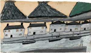 Alfred Wallis - Houses and Kilns