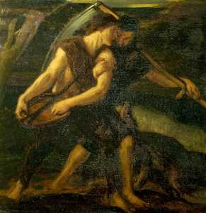 Charles Hazelwood Shannon - The Sower and the Reaper