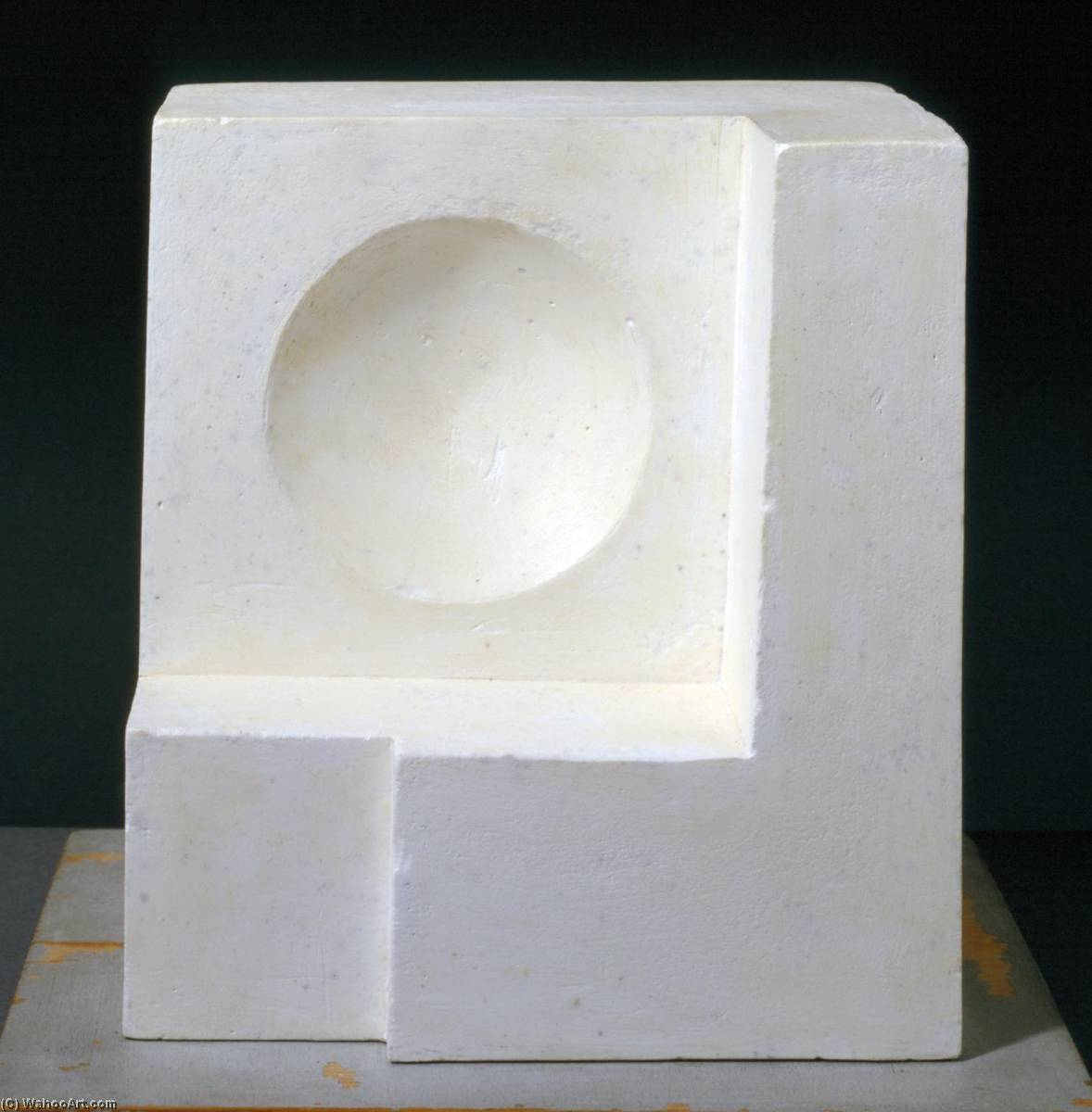 1936 (white relief sculpture version 1), Wood by Ben Nicholson (1894-1982, United Kingdom)