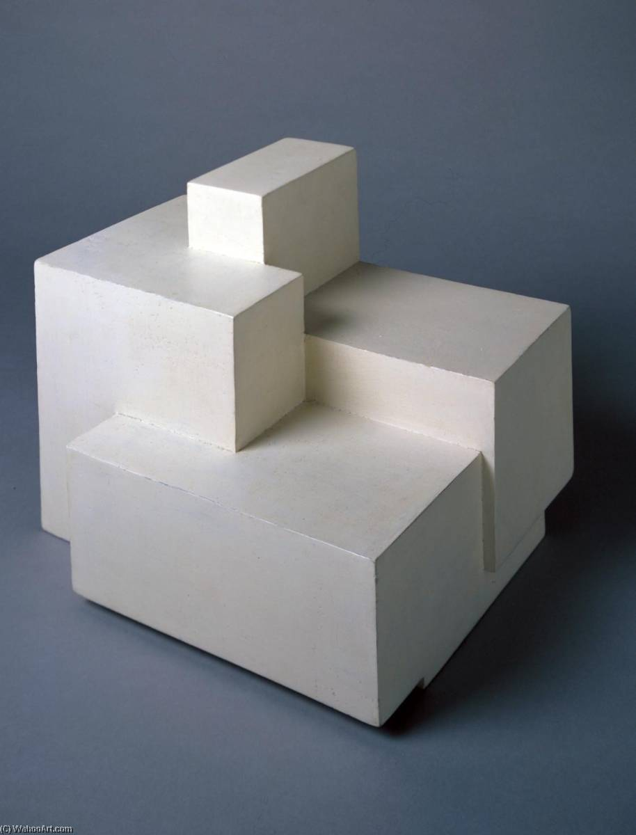 circa 1936 (sculpture), 1936 by Ben Nicholson (1894-1982, United Kingdom) | Museum Quality Reproductions | WahooArt.com