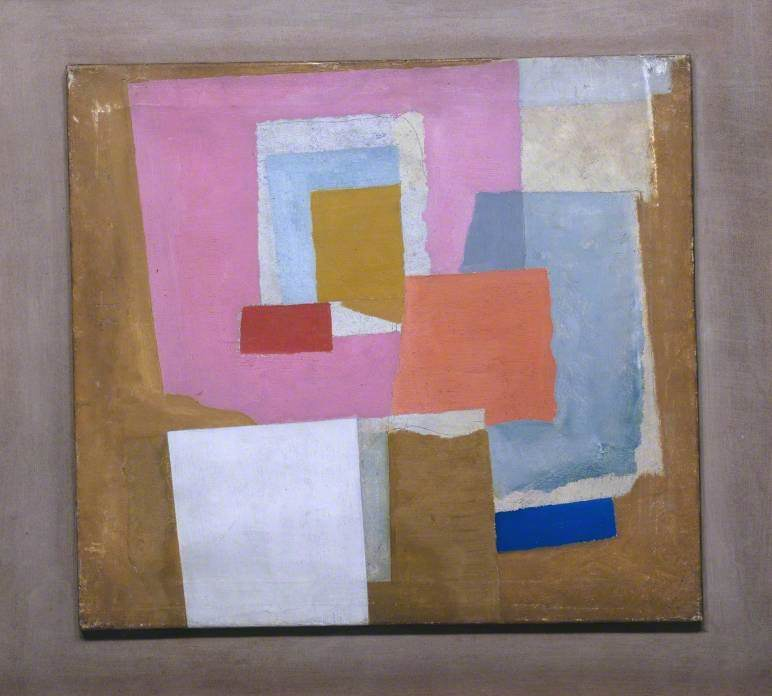 1924 (first abstract painting, Chelsea) by Ben Nicholson (1894-1982, United Kingdom) | Museum Quality Reproductions | WahooArt.com