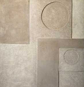 Ben Nicholson - 1934 (painted relief)