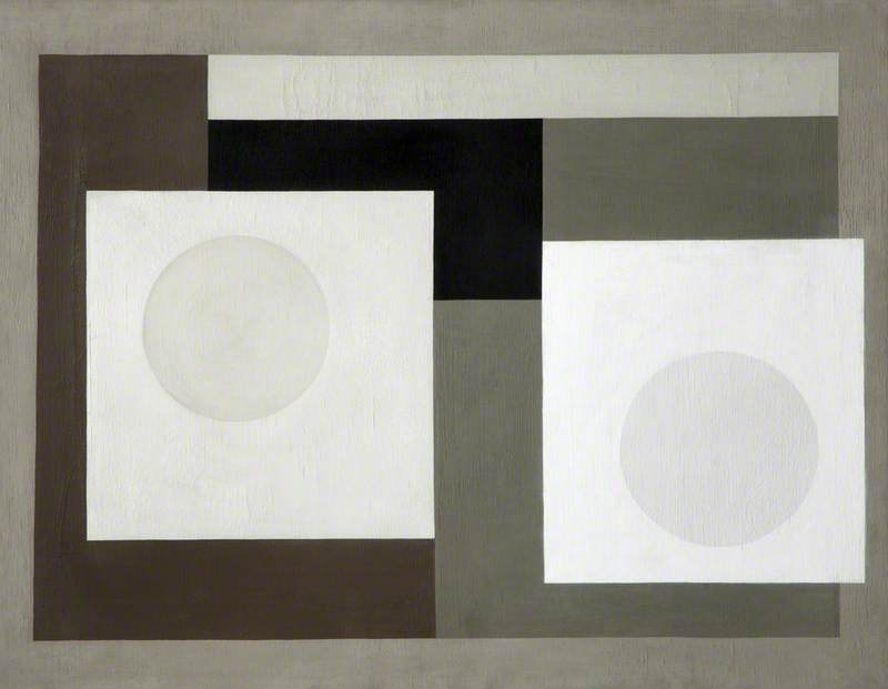 1935 (painting), Oil On Canvas by Ben Nicholson (1894-1982, United Kingdom)