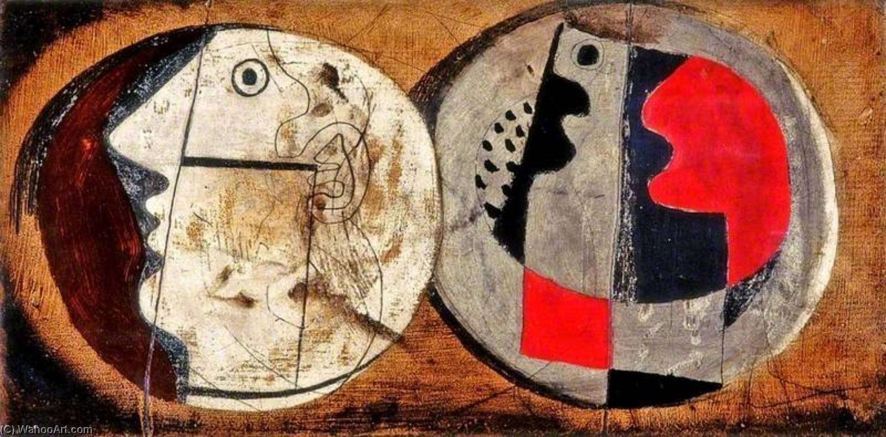 1933 (design), Pen by Ben Nicholson (1894-1982, United Kingdom)