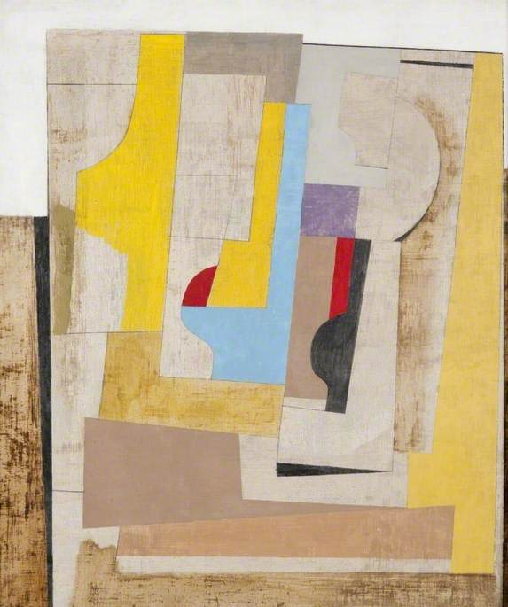 1946–50 (still life), 1950 by Ben Nicholson (1894-1982, United Kingdom) | Famous Paintings Reproductions | WahooArt.com