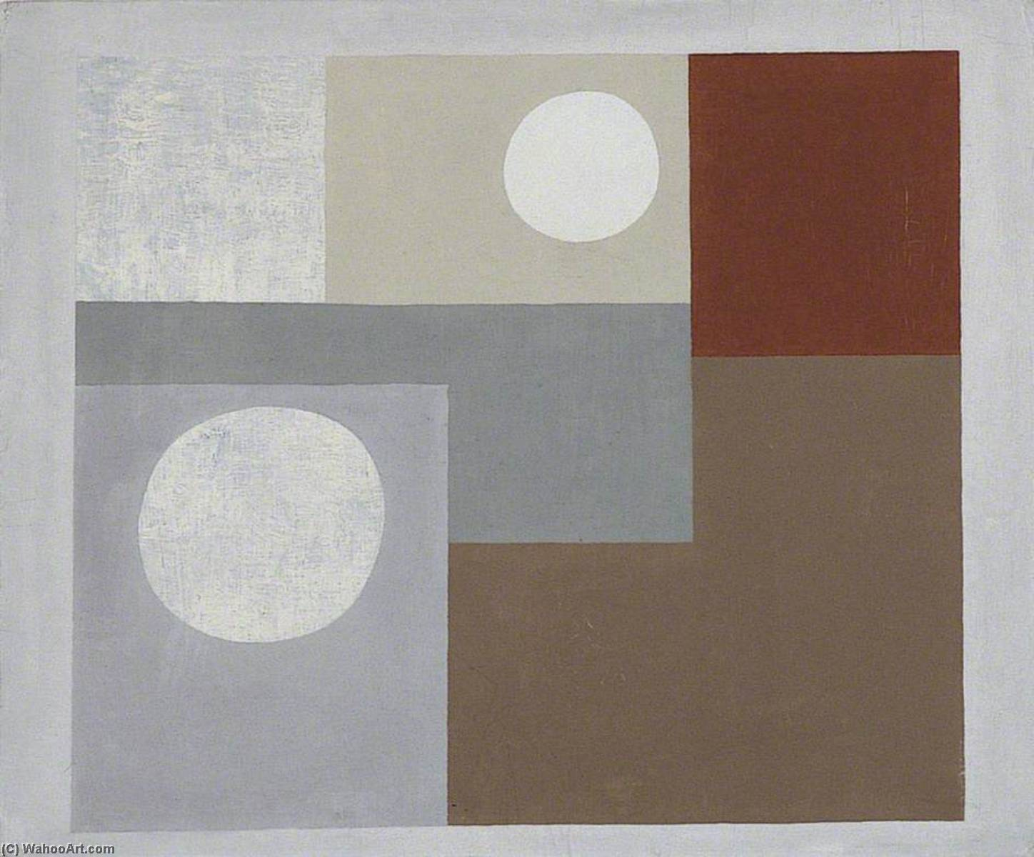 1934 (painting), 1934 by Ben Nicholson (1894-1982, United Kingdom) | Oil Painting | WahooArt.com