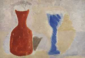 Ben Nicholson - 1925 (jar and goblet)