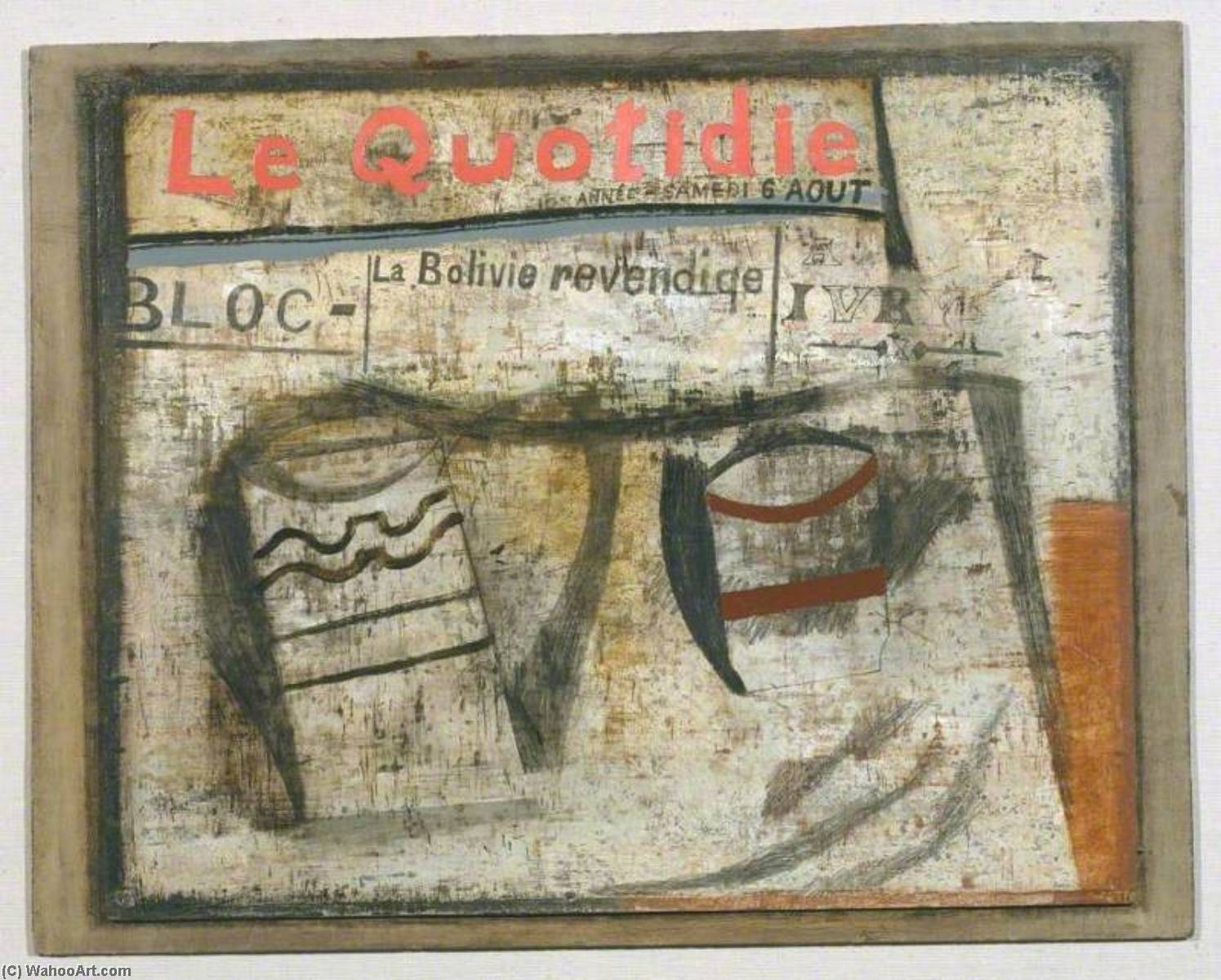 1932 (Le Quotidien), 1932 by Ben Nicholson (1894-1982, United Kingdom) | Art Reproduction | WahooArt.com