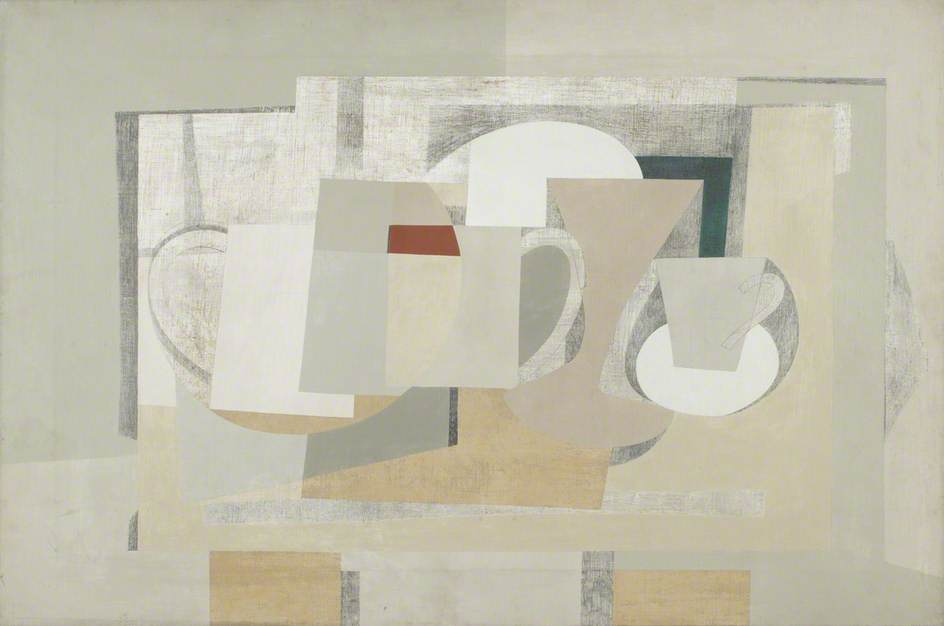 1930–1936 (composition still life), 1936 by Ben Nicholson (1894-1982, United Kingdom) | Museum Quality Reproductions | WahooArt.com