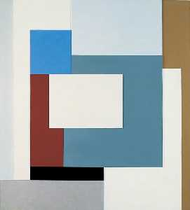 Ben Nicholson - 1939 (painted relief)